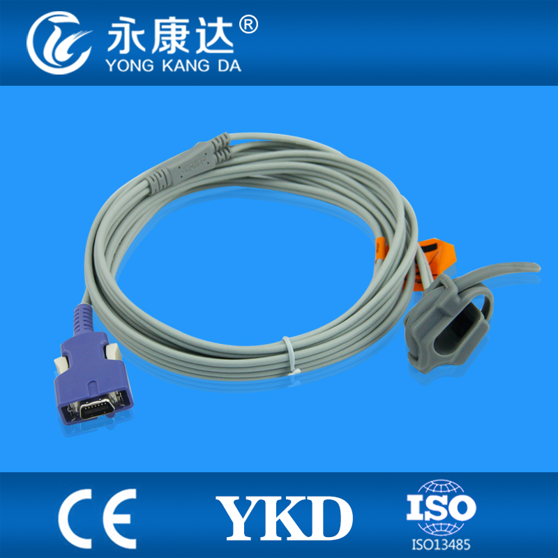 Mediana YM 6000 Neonatal silicone envoltório spo2 sensor, oximax 14 pinos