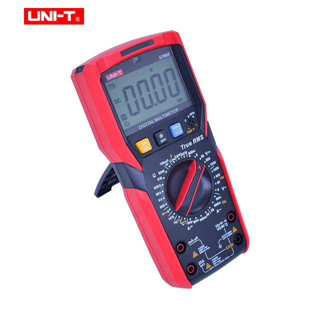 UNI-T UT89X/UT89XD true RMS Digital multimeter 20A high current digital multimeter NCV/capacitor/triode/temperature/LED test 4