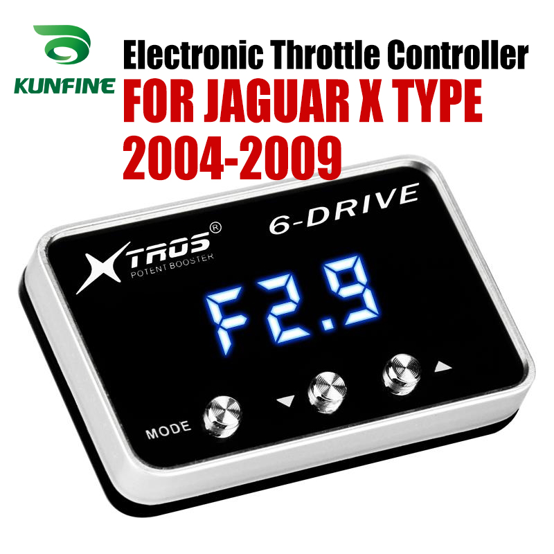 Car Electronic Throttle Controller Racing Accelerator Potent Booster For JAGUAR X TYPE 2004 2009 Tuning Parts Accessory|Car Electronic Throttle Controller| |  - title=
