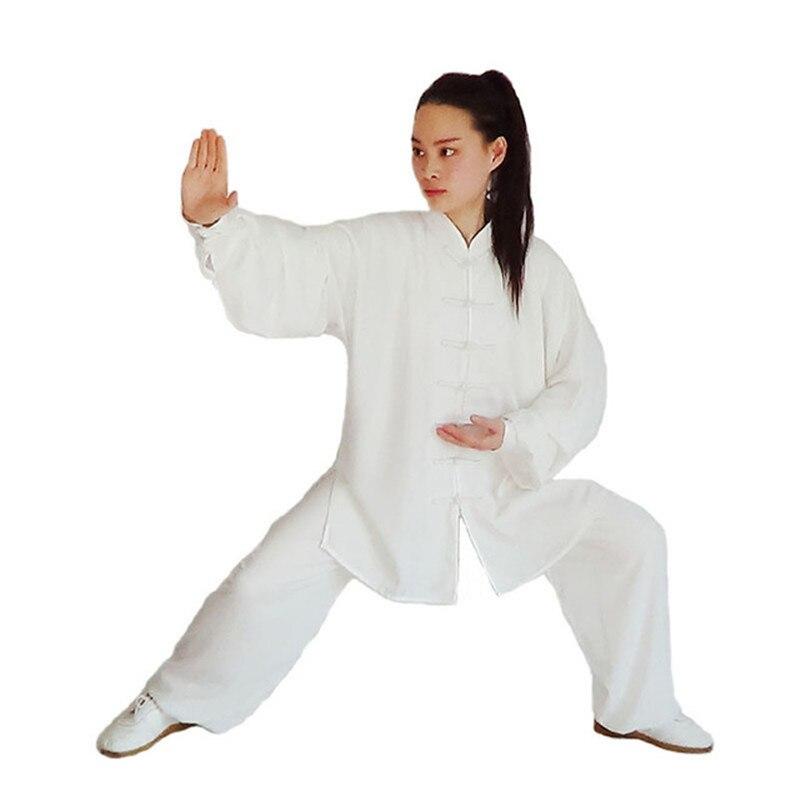 Taoyekma 2019 New Chinese Kung Fu Suit Tai Chi Clothing Cotton Martial Art Uniform Wushu Taiji Clothing Taijiquan Practice Sets
