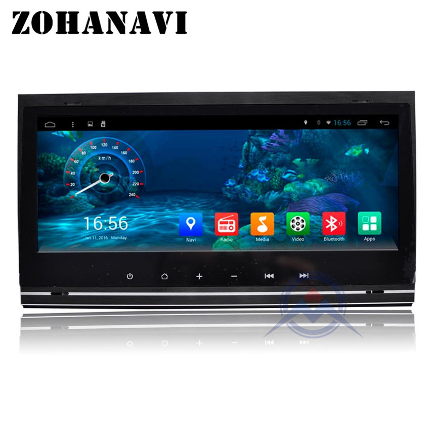ZOHANAVI 9 Inch Android Car Radio For AUDI A4 2002 2003