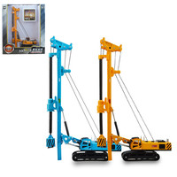 High Simulation Engineering Model 1 64 Alloy Spin Drilling Rig High Quality Collection Models Metal Cars