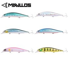 Mavllos Floating Minnow Fishing Bait Lure 13.5cm 17g Shallow Diving Depth 3D Excessive Simulation Eyes Synthetic Fishing Lure