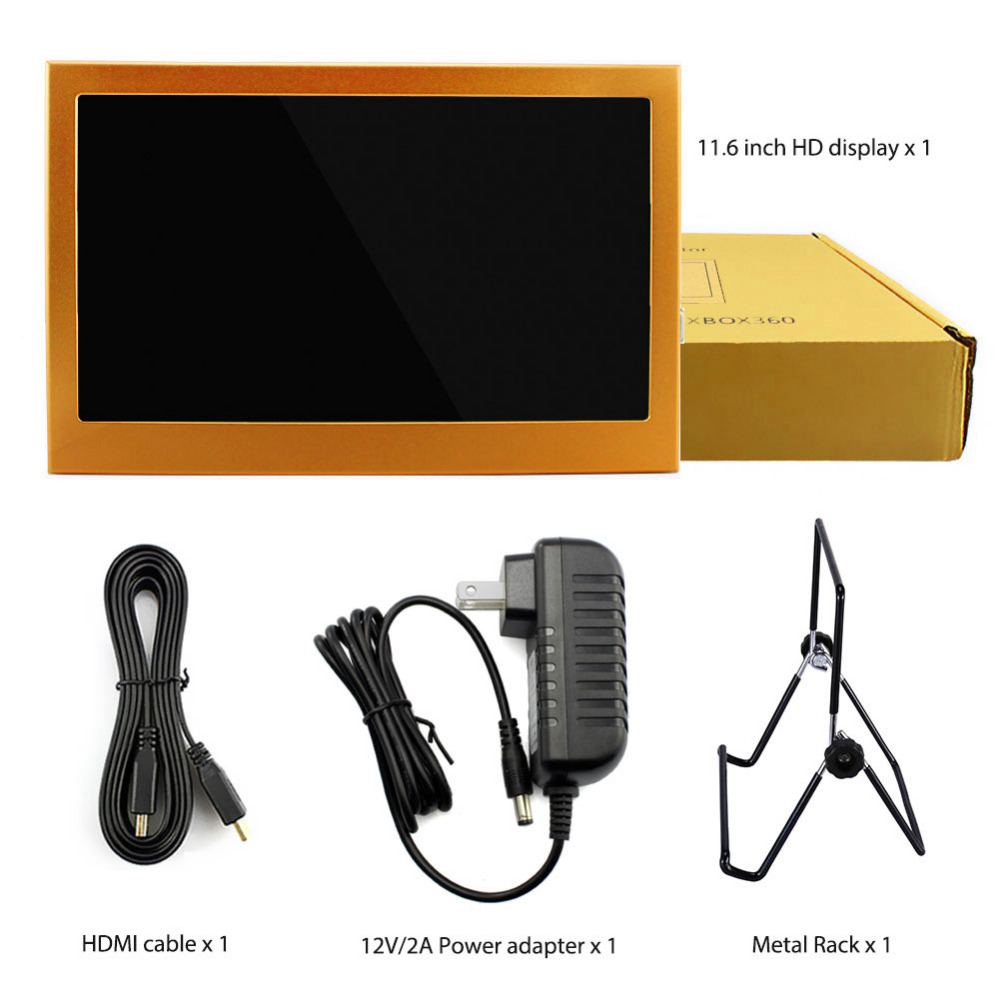 Elecrow 11.6 Inch Lcd scherm 1920x1080 HDMI PS3 PS4WiiU Xbox360 Display Monitor voor Raspberry Pi 3 B 2B B + Windows 7 8 10 - 6