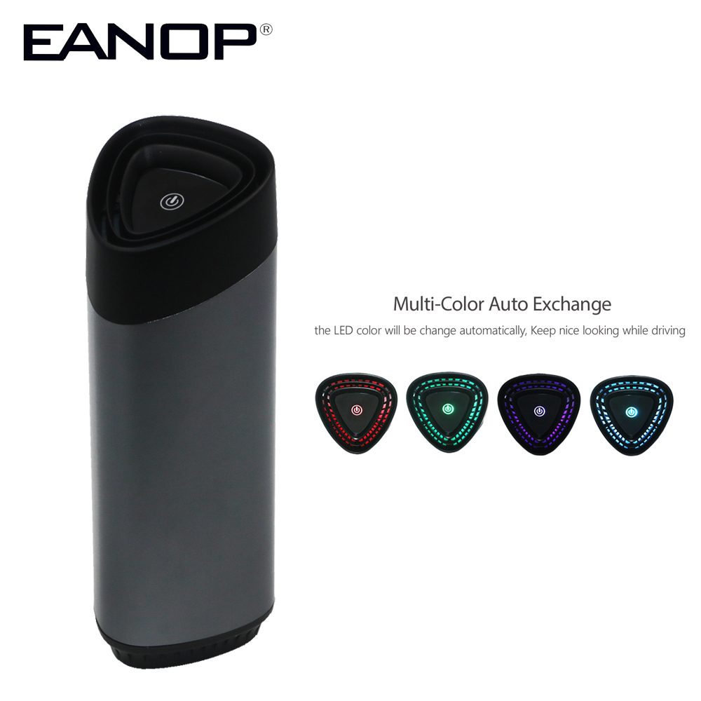 EANOP P400 Car Air Cleaner in Car Air Purifier 12V Air Freshner HEPA Filter for Universal Cars Suitable for 3 20 Square Meter