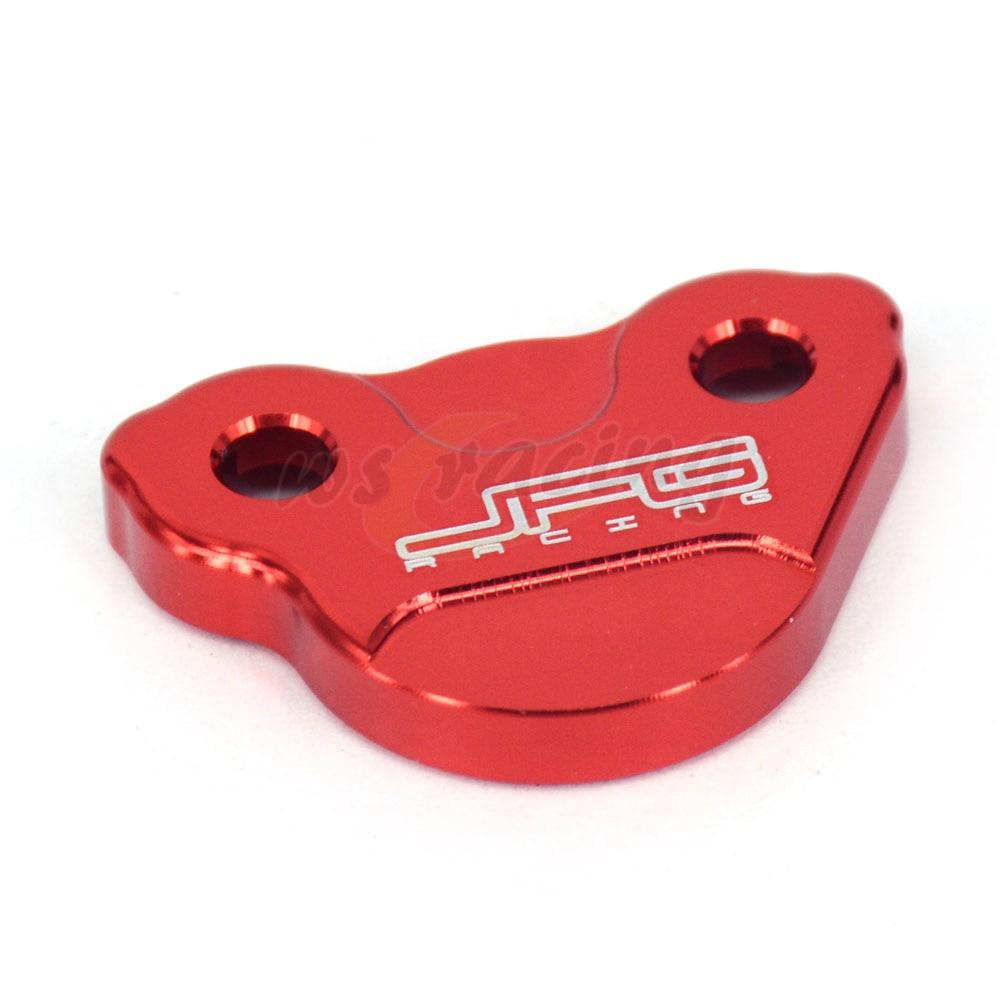 Motorcycle CNC Rear Brake Fluid Reservoir Cover Cap For HONDA CR125 CR250 CRF150R CRF250R CRF250X CRF450R CRF450X