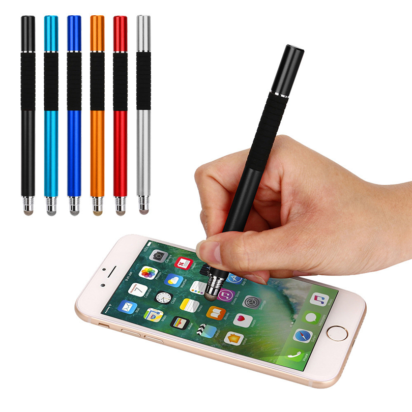2IN1 High Precision Capacitive Universal Tablet Touch Screen Stylus Pen For IPhone Samsung Screen Pen Stylus A20