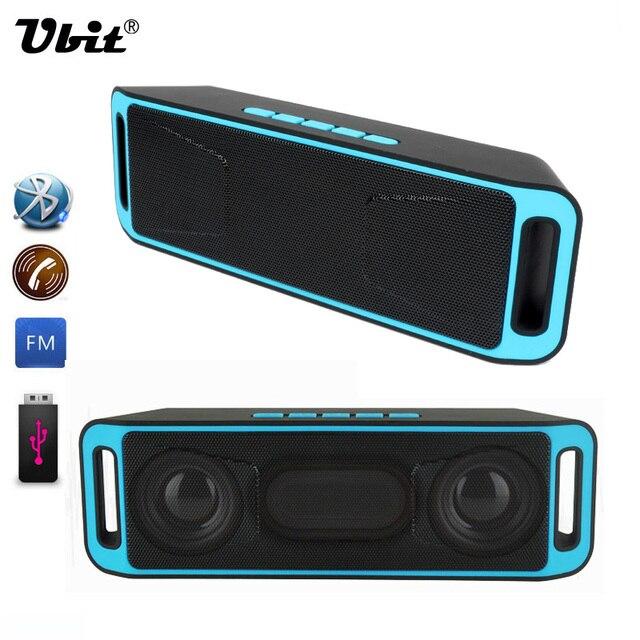 ubit portable wireless speaker bluetooth 4 0 stereo subwoofer tf usb fm radio built in mic dual. Black Bedroom Furniture Sets. Home Design Ideas