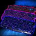 1 шт. Регулируемая Трещины С Подсветкой Свет Проводной Игровой Клавиатуры USB 3 Цвета