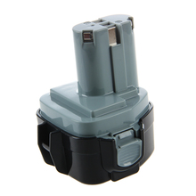 12V, 3.0Ah, Ni-MH, Replacement Power Tools Battery for Makita  Black+Gray