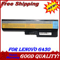 JIGU Laptop Battery For Lenovo N500 G550 For IdeaPad G430 V460 Z360 B460 L08S6Y02 5200mah 6cells