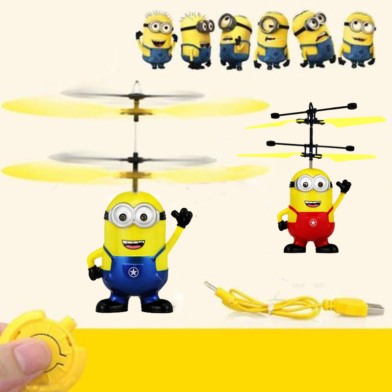 Touching induction Aircraft Helicopter Flying Quadcopter Drone Kids Toy