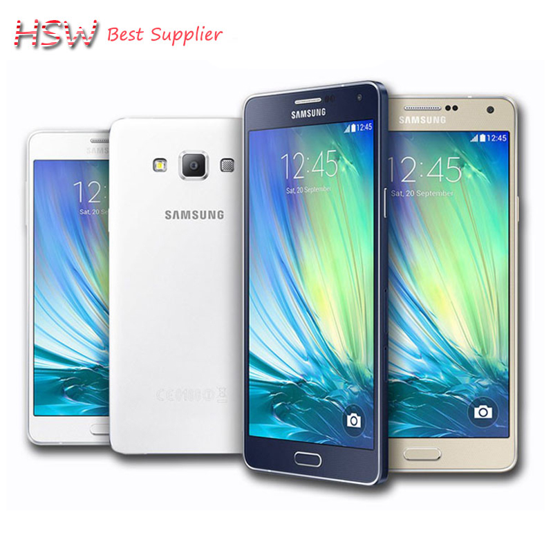 Samsung Galaxy A7 Duos Original Unlocked 4G GSM Android Mobile Phone Dual Sim A7000 Octa