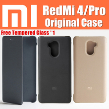 xiaomi redmi 4 pro case 100% original flip cover funda Snapdragon 625/430 5″ for xiaomi red mi 4 case redmi 4 redmi4 redmi4