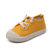 New Autumn Children Shoes Canvas Boys Girls Sport Shoes Fashion Comfortable Outdoor Breathable Kids Sneakers Boy Shoes White