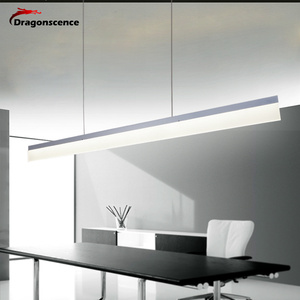 Image 2 - Dragonscence Modern LED Pendant Lights for Corridor Aisle Entrance Dining Living Room Long Strip Pendant Lamp Home Fixture