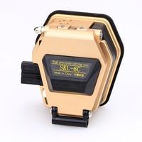 Золотой Высокоточный волоконный Кливер SKL-6C нож для резки кабеля FTTT волоконно-оптический нож инструменты волоконные резаки используется в ...