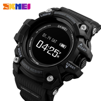 SKMEI Smart Watch Men Heart Rate Sport Bluetooth 3Bar Waterproof Watches Pedometer Calorie Digital Watch montre homme 1188