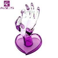 KADS Groothandel 5 stks/set Acryl Nail Praktijk professionele Model Fake Hand Training en Nail Praktijk Nail Gereedschap voor Salon Gebruik