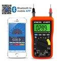 Мультиметр 90EPD Авто Диапазон DMM 4000 отсчетов с мобильный телефон приложение Bluetooth  AC  DC Напряжение ток