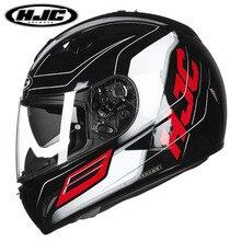 Бесплатная доставка hjc мотоциклетный шлем полный-длина мужчин и женщин tr-1 локомотив автомобиль гоночный шлем встроенный двойной объектив полный шлем