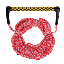 22m Premium Water Ski Ropes Safety Surfing Tow Line with Floating Handle  Practical Sports Accessories Red