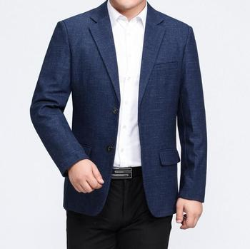 coats mens suits spring autumn business casual slim fit clothes Middle-aged jacket men blazer masculino jaqueta masculina