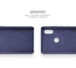 Image 5 - Original Xiaomi Mi MIX 2S Case Cover Genuine Silicone + soft fiber Durable comfortable shockproof shell for Mi Mix 2X MIX2S 5.99