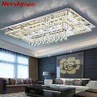 Роскошный хрустальный потолочный светильник с стеклянным абажуром Люстра потолочная для гостиной Кристалл лампа для спальни потолочные с