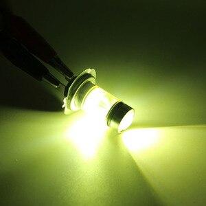 Image 5 - 1 قطعة H7 LED لمبة السوبر مشرق 20SMD 3030 أضواء الضباب للسيارة 12 فولت 24 فولت 3000 كيلو 6000 كيلو القيادة يوم مصباح السيارات تشغيل لمبة Led H7