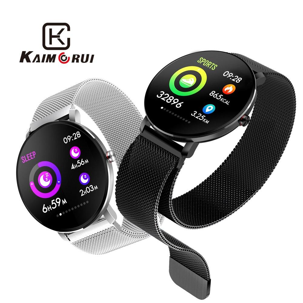 Smart Watch Women Heart Rate Pedometer IP68 Waterproof Sports Color Screen Bluetooth Ladies Smartwatch for Andriod