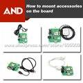 Бесплатная Доставка DHL/EMS GSM GPS доска демо, GSM GPS Studting доска, вместо SIM908, SIM808 UART комплекты
