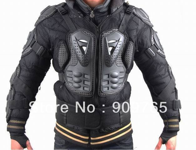 Motorcycle Accessories Parts 1 Pcs Black Adult Body Armor Jacket Motorcycle Guard Chest Protector S M L XL XXL XXXL xl to xxxl fleece solid black