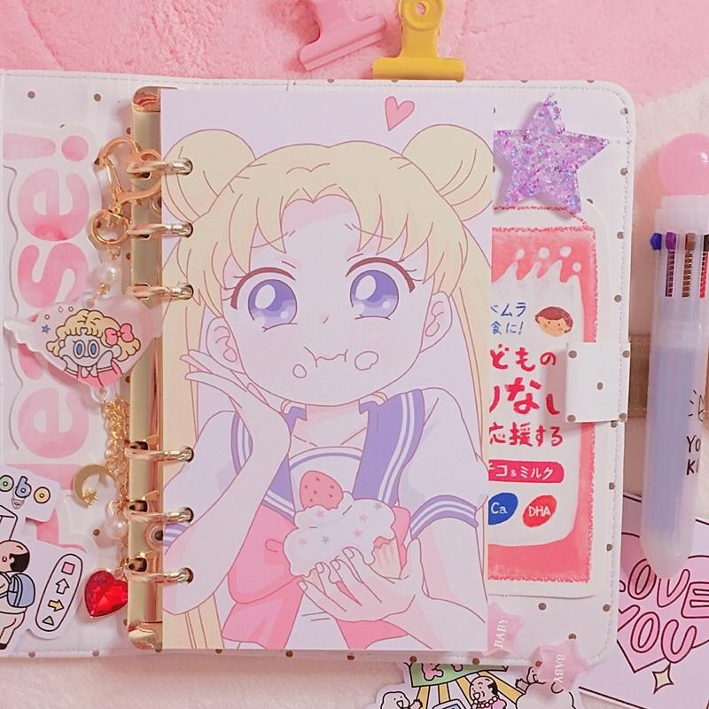 Aliexpress.com : Buy 1 Sheet Kawaii Lovely Sailor Moon A6
