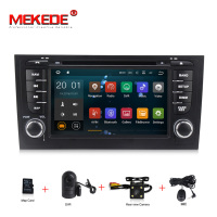 PX3 2Din Android 7.1 Car DVD player For AUDI A6 S6 RS6 GPS Navigation Multimedia WIFI Audio Stereo Radio Headunit 2G+16G