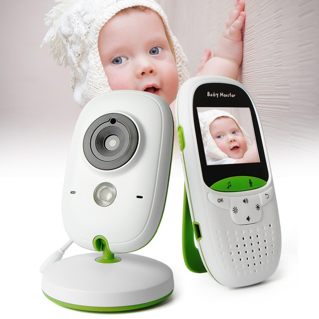 Moniteur vidéo sans fil bébé 2.0 pouces nounou caméra 2 voies parler Vision nocturne IR LED moniteur de température infantile bébé sommeil Cam VB602