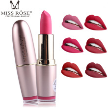 24PCS/LOT Miss Rose batom Nude Matte lipstick Velvet Lipstick Beauty Red Lips kilie Cosmetic long-lasting makeup