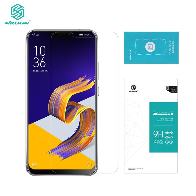 sfor ASUS Zenfone 5 ZE620KL Tempered Glass sfor ASUS Zenfone 5 2018 Glass Nillkin Amazing H 0.33MM Screen Protector