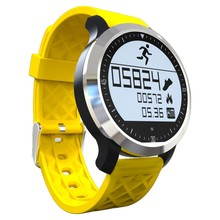 Alta calidad ip68 a prueba de agua smart watch f69 llamada mensaje recordar smartwach android y ios podómetro sleep monintor