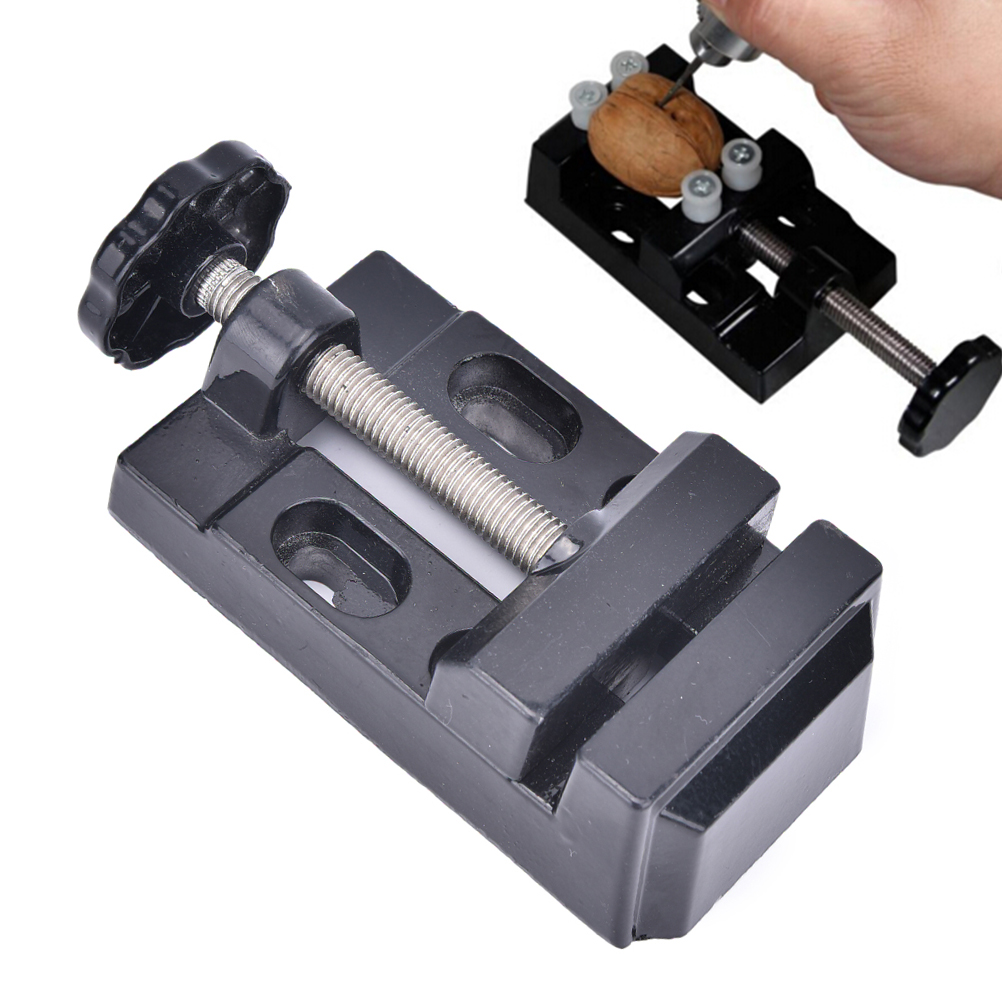 Mini Jaw Bench Clamp Drill Press Vice Opening Parallel Table Vise DIY Craft