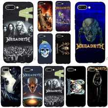 Pattern Megadeth Phone Case for Huawei Honor Y6 Prime Cover 6A 10 8 9 Lite 7A Pro 7X 7C Nova 3 3i Covers