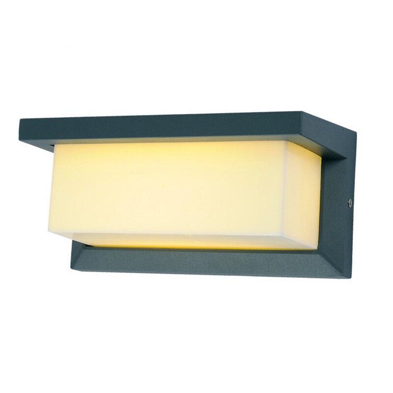ФОТО Led Wall Sconce Wall Lamp AC90~260v 10w Aluminum Led Lighting Outdoor IP65 Waterproof Bathroom Lamp Garden Lamp Led Fixture