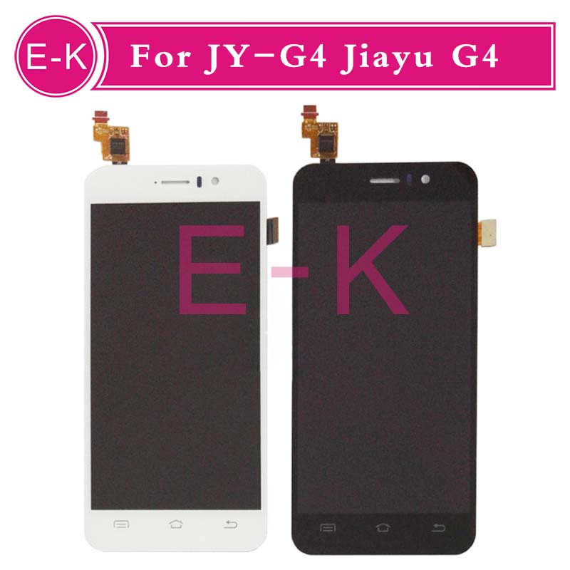 DHL EMS 10pcs/lot High quality 4.7 For JIAYU G4 LCD Display + Touch Screen Digitizer Assembly Replacement Black White dhl ems high quality black white gold