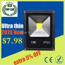 Ultra Thin 10W RGB LED Floodlight AC85-265V IP65 Waterproof Spot light Projection lamp Home Garden Outside