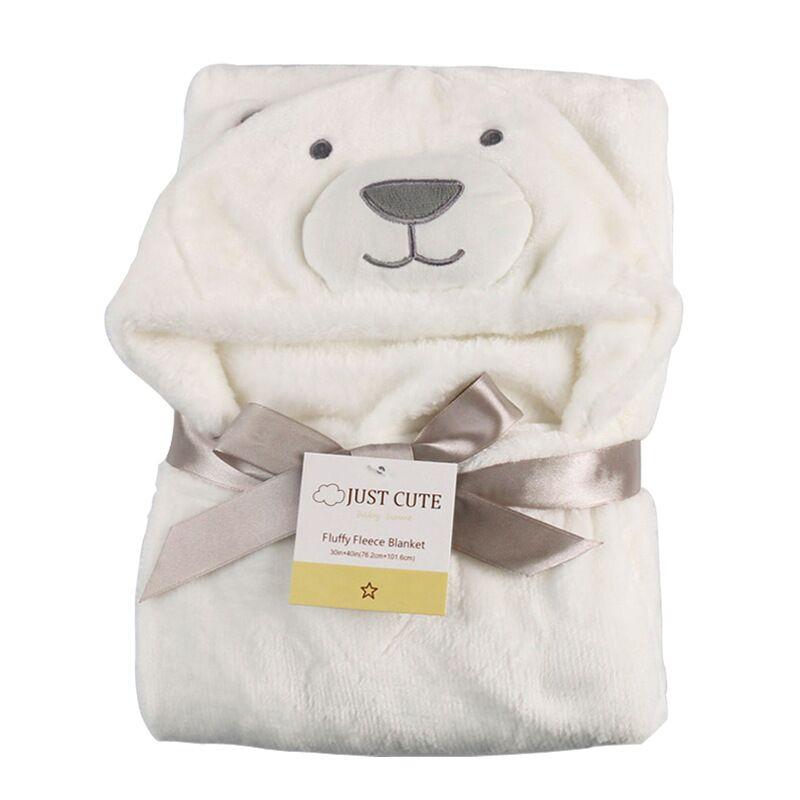 Nueva Toalla de bebé con capucha suave Animal Albornoz de bebé ...