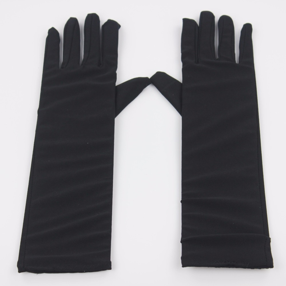 1 Pair Of Muslim Oversleeves Abaya Hijab Islam Islamic Sleeves Arm Cover Gloves About 32cm