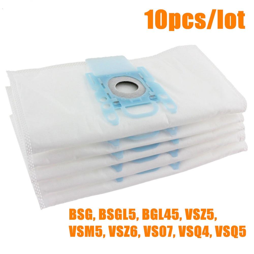 10 PCS Vacuum Cleaner Dust Bag Replacement For Genuine Bosch Microfibre Type G GXXL GXL MegaAir SuperTex BBZ41FGXXL Nonoriginal