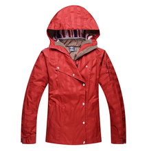 Free shipping High quality sportswear women ski jacket waterproof windproof winter warm jackets for skiing outdoor lady
