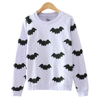 T Inside 2016 New Fashion Autumn Winter Women Cotton T Shirt Long Sleeve O Neck Sweet