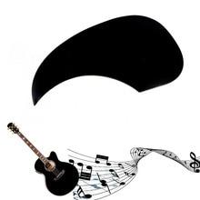 1Pc Celluloid Pickguard Scratch Plate Pick Guard For Acoustic Guitar Black Guitar Parts